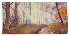 Autumn Memories Hand Towel