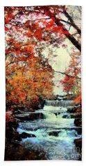 Autumn Mill Falls Hand Towel