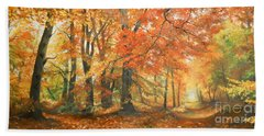 Autumn Mirage Hand Towel