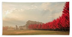 Autumn On Art Hill Hand Towel