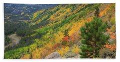 Autumn On Bierstadt Trail Hand Towel