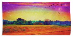 Autumn On Earth Two Hand Towel