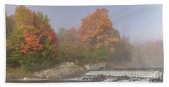 Autumn On The Moose Hand Towel