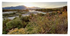 Autumn On The South Fork Hand Towel