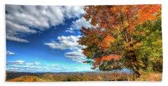 Autumn On The Windfall Hand Towel