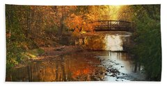 Autumn Over Furnace Run Bath Towel by Rob Blair