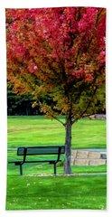 Autumn Park Hand Towel
