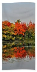 Bath Towel featuring the photograph Autumn Portrait by Kathleen Sartoris