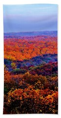 Autumn Rainbow Hand Towel