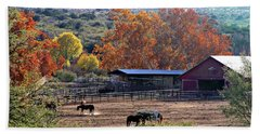 Autumn Ranch Hand Towel