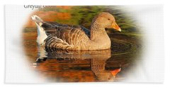 Hand Towel featuring the photograph Autumn Reflection by Debbie Stahre