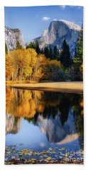 Autumn Reflections Hand Towel