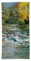 Autumn Rush Hand Towel