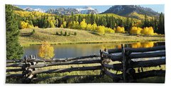 Autumn Serenade Hand Towel by Eric Glaser