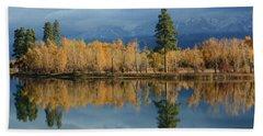 Autumn Song Hand Towel