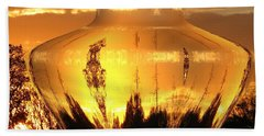 Hand Towel featuring the photograph Autumn Spirits by Joyce Dickens