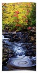 Autumn Swirls Bath Towel