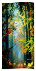 Autumn Trails In Georgia Hand Towel