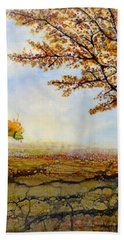 Autumn Trees Hand Towel