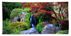 Autumn Waterfall Hand Towel