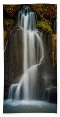 Autumn Waterfall Bath Towel