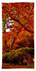 Autumn Bath Towel