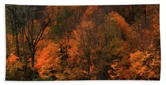 Autumn Woods Hand Towel