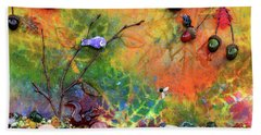 Autumnal Enchantment Hand Towel by Donna Blackhall