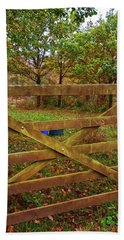 Hand Towel featuring the photograph Autumnal Orchard by Anne Kotan
