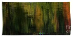 Autumnal Reflections Hand Towel