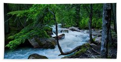 Avalanche Creek Hand Towel