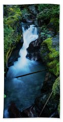 Avalanche Creek Rapids Bath Towel