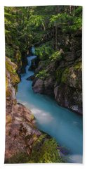 Bath Towel featuring the photograph Avalanche Gorge 5 by Gary Lengyel
