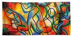 Avant-garde Jazz Hand Towel