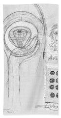 Avedon Master Of The Lens Hand Towel