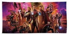 Avengers Infinity War Hand Towel