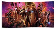 Avengers Infinity War Bath Towel