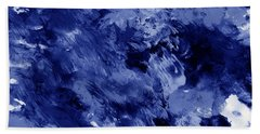 Awakened Sky- Abstract Art By Linda Woods Hand Towel