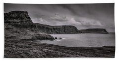 Bath Towel featuring the photograph Away From Sun Bw #g9a by Leif Sohlman