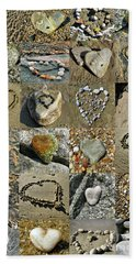 Awesome Hearts Found In Nature - Valentine S Day Bath Towel