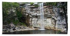Awosting Falls In July II Bath Towel