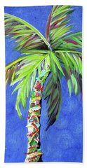 Azul Palm Hand Towel