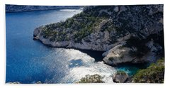 Azure Calanques Bath Towel