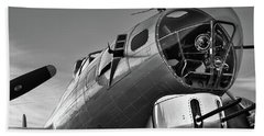 B-17 Nose Bath Towel