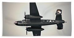 B-25 Fly By Bath Towel