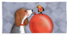 B Is For Beagle Hand Towel