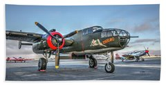 B25 Mitchell At Livermore Hand Towel