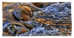 Babbling Brook Bath Towel by Andrea Kollo