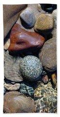 Babbling Brook Bird's Egg Stone Hand Towel