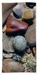 Babbling Brook Bird's Egg Stone Hand Towel